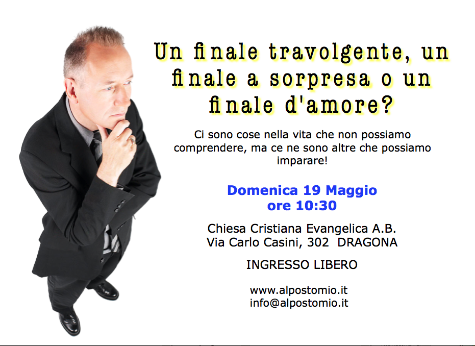 Culto evangelistico 2013-05-19